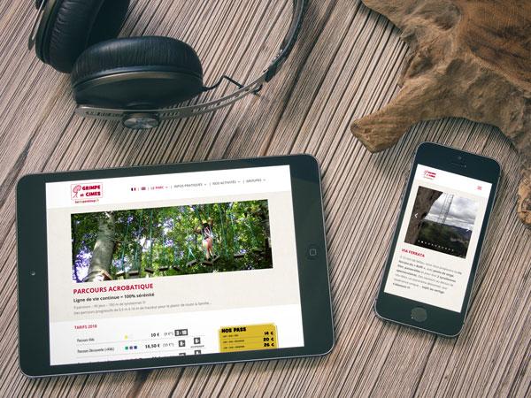 site-internet-responsive-parc-aventure