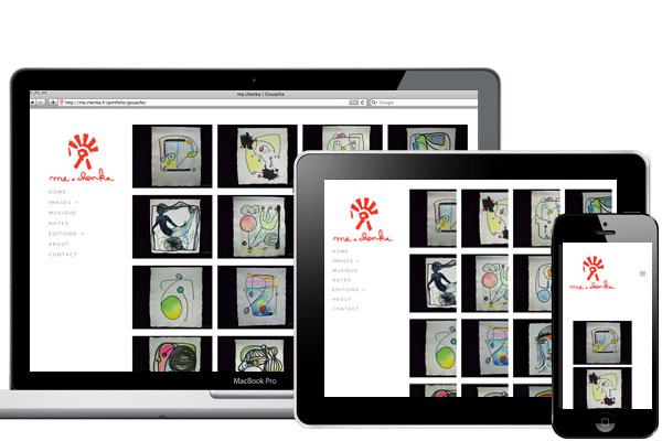 Site internet ma.chenka